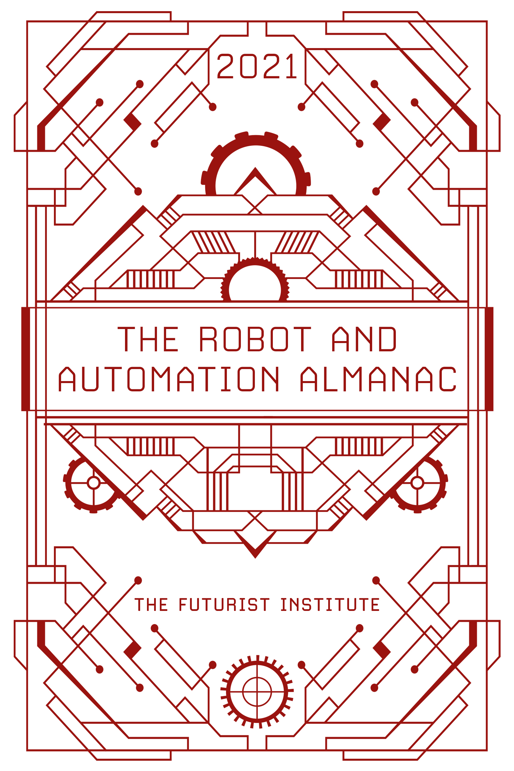 The Robot and Automation Almanac - 2021 Cover