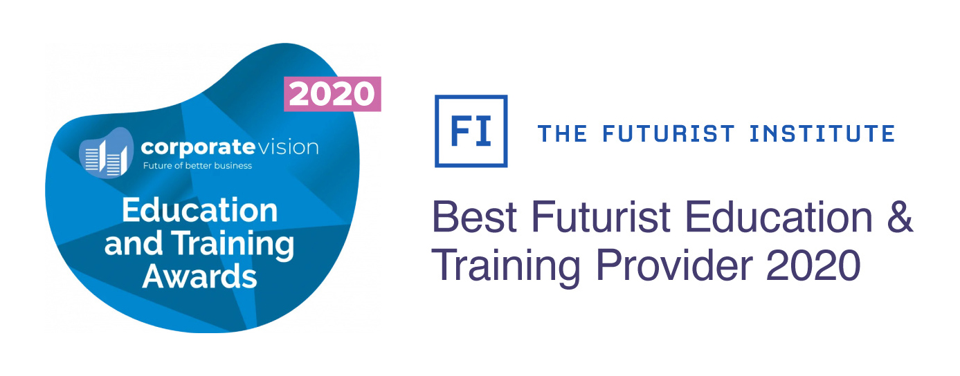 Corporate Vision Education and Training Awards: Best Futurist Education & Training Provider 2020